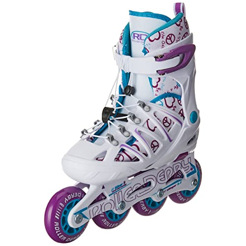 Roller Derby Girls Stinger 5.2 Adjustable Inline Skate
