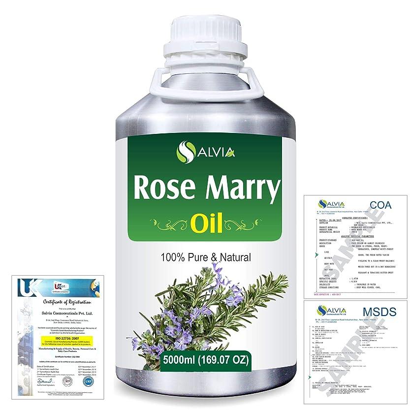 下手香港で出来ているRose Marry (Rosmarinus officinalis) 100% Natural Pure Essential Oil 5000ml/169fl.oz.