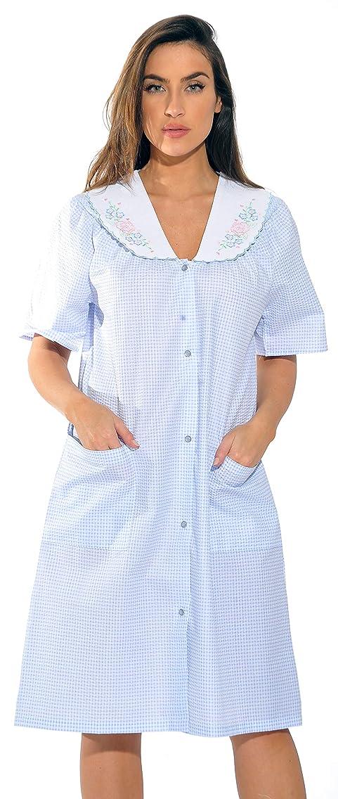 Dreamcrest Short Sleeve Duster/Housecoat/Women Sleepwear