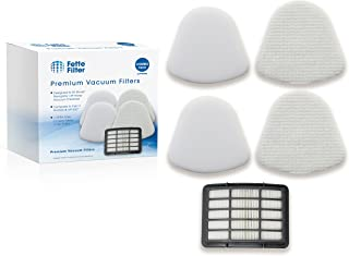 Fette Filter – Vacuum Filter Kit Compatible with Shark Navigator Lift-away Nv350 Nv351, Nv352, Nv355, Nv356, Nv357. Combo Pack. Compare to # XFF350 & XHF350