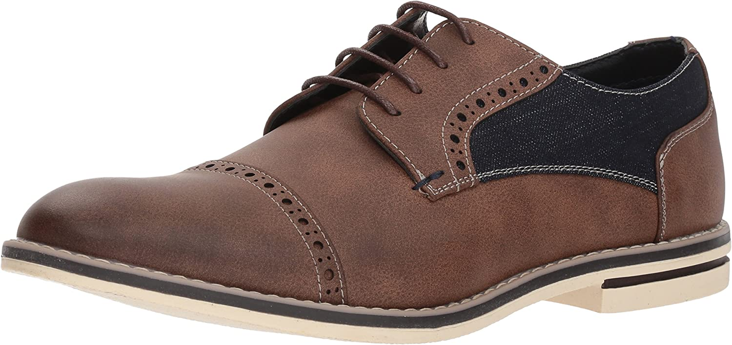 Kenneth Cole New York Mens Ozzie Lace Up B Oxford