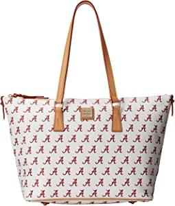 Dooney & Bourke - Collegiate Zip Top Shopper