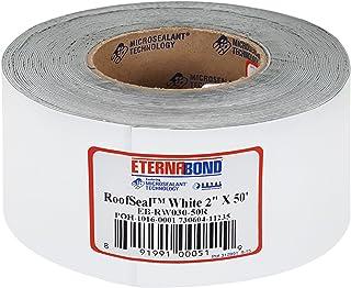 "EternaBond 2"" X 50 RV Rubber Roof Seal Repair White"