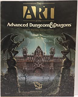 The Art of the Advanced Dungeons & Dragons Fantasy Game