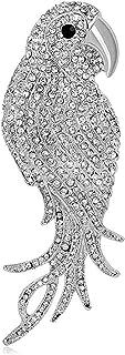 FOPUYTQABG Broche de aleación de los hombres de moda búho shell material moda exquisita decoración retro accesorios creati...