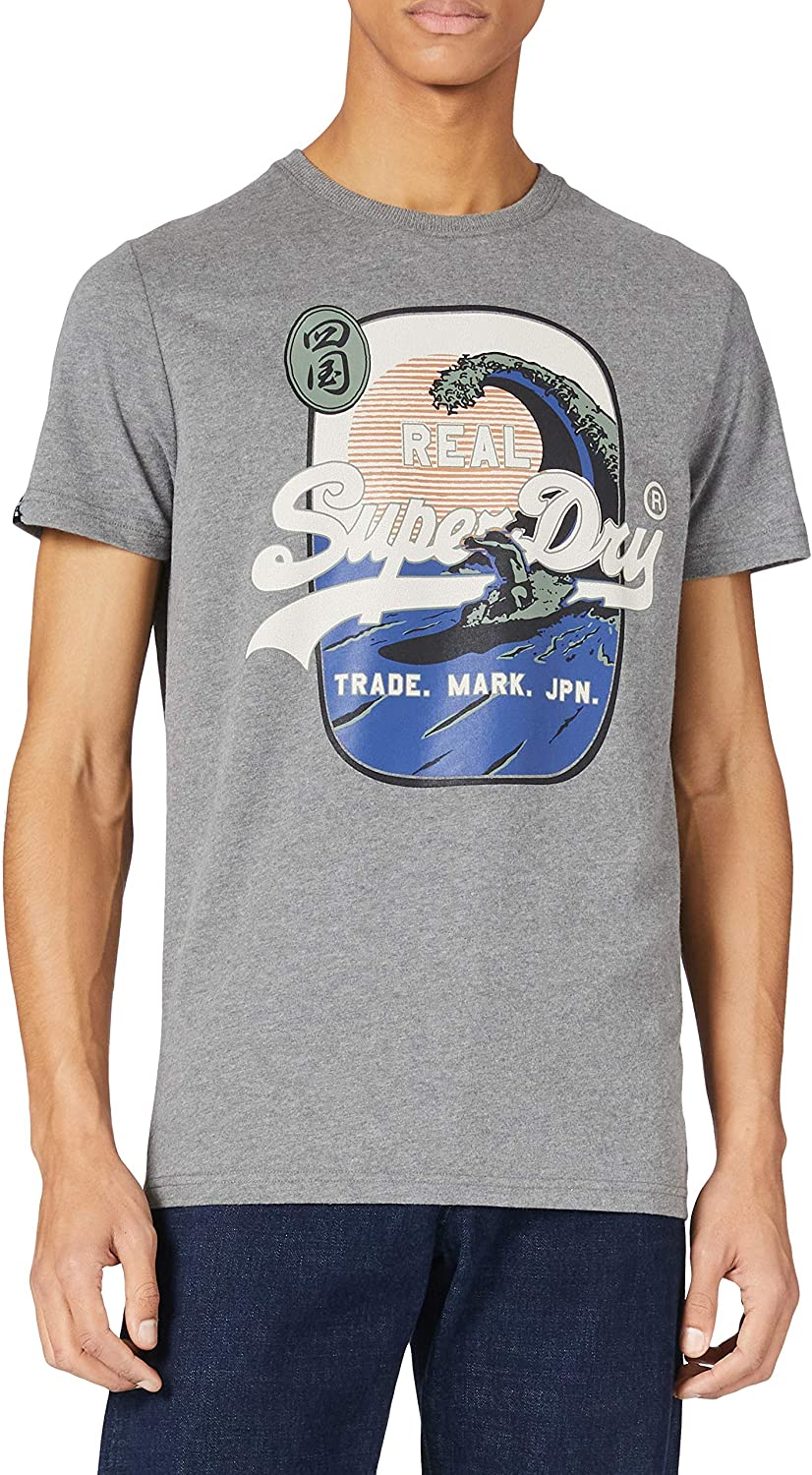 Miami Mall Superdry Vintage Logo Itago Cheap mail order shopping Standard T-Shirt Weight
