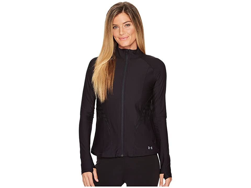 Under Armour Vanish Disrupt Mesh Full-Zip Training Jacket (Black/Black/Tonal) Women