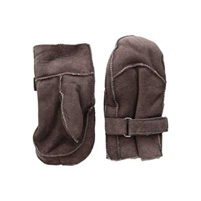 Tundra Boots Kids Sheepskin Mittens (Brown 2) Extreme Cold Weather Gloves