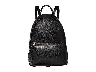 Rebecca Minkoff Emma Backpack (Black) Backpack Bags