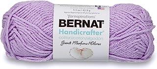 Bernat Handicrafter Cotton Scents Yarn, 1.5 oz, Gauge 4 Medium Worsted, Lavender,16210505311