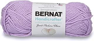 Bernat Handicrafter Cotton Scents Yarn, 1.5 oz, Gauge 4 Medium Worsted, Lavender