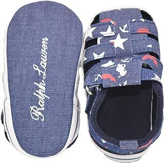 Baby Bucket Kid's Denim Light Weight Soft Sole Pre-Walker Booties Sandal Shoes (10-15 Months)