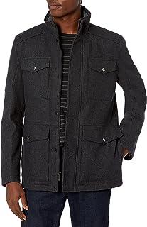 جاكيت رجالي من Haggar يحمل تصميم Brighton Military بأربعة جيوب
