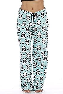 Women's Cute Character Print Plush Pajama Pants - Petite to Plus Size