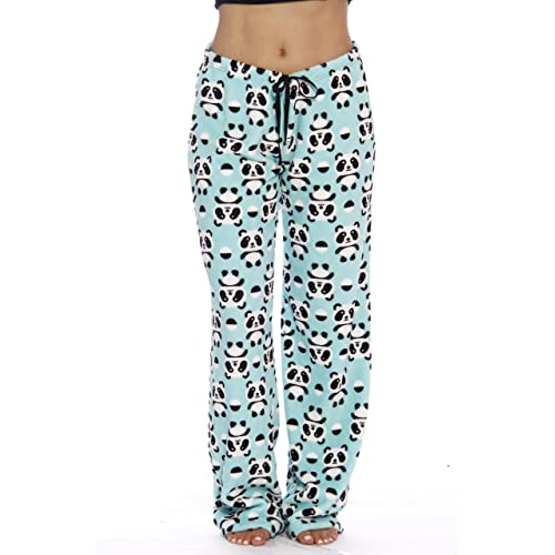 124d4385d Just Love Women s Cute Character Print Plush Pajama Pants - Petite to Plus  Size