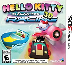 Hello Kitty & Sanrio Friends 3D Racing - Nintendo 3DS