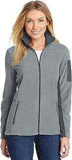 Port Authority® Ladies Summit Fleece Full-Zip Jacket. L233 Frost Grey   Magnet 1cf84818a