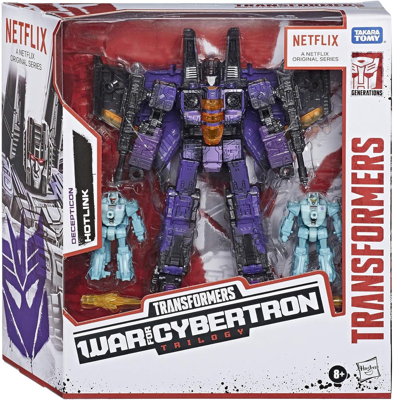 Hasbro Transformers Netflix War for Cybertron Sideswipe Action Figure 2020 for sale online