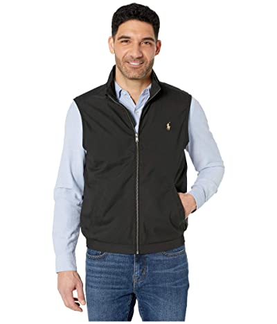 Polo Ralph Lauren Windbreaker Vest (Polo Black) Men