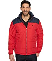 U.S. POLO ASSN. - Color Block Puffer