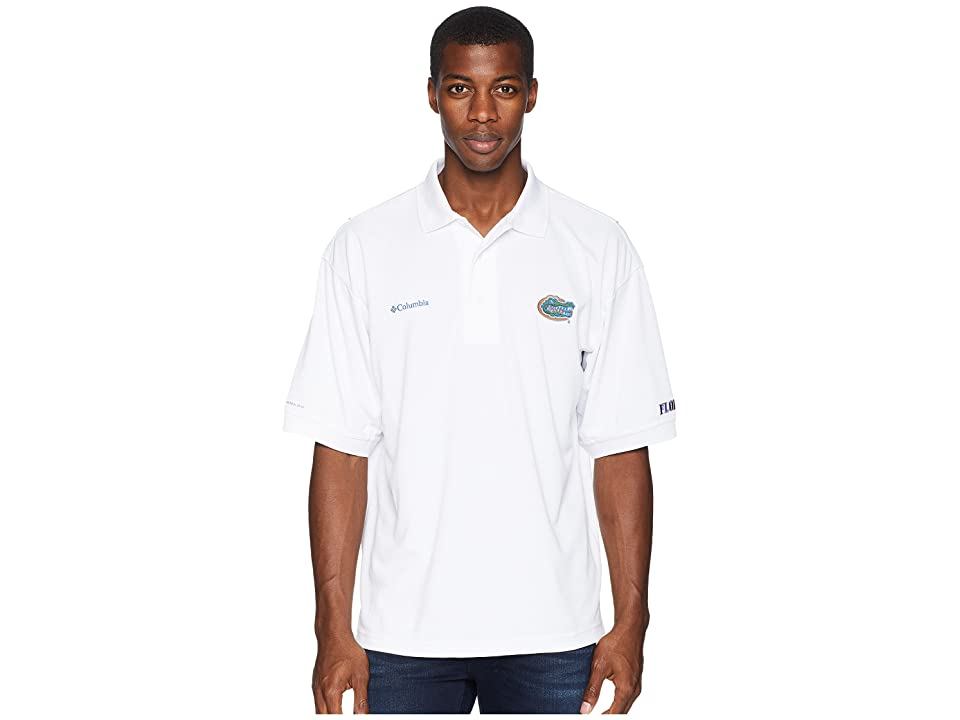 Columbia Collegiate Perfect Casttm Polo Top (Florida/White) Men