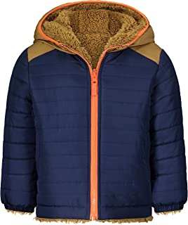 OshKosh B'Gosh baby-boys Heavyweight Colorblock Puffer Coat