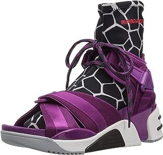 Marc Jacobs Women's Somewhere Sport Sandal with Sock, Rhubarb,