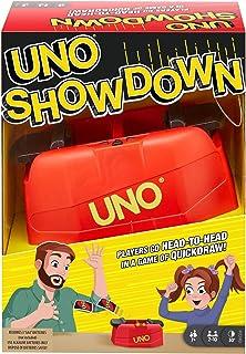 Mattel Games GKC04 - UNO Showdown-kortspel för hela familjen för barn från 7 år och uppåt