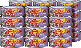 Purina Friskies Prime Filets, Turkey Wet Cat Food Can, 156 gm (Pack of 24)