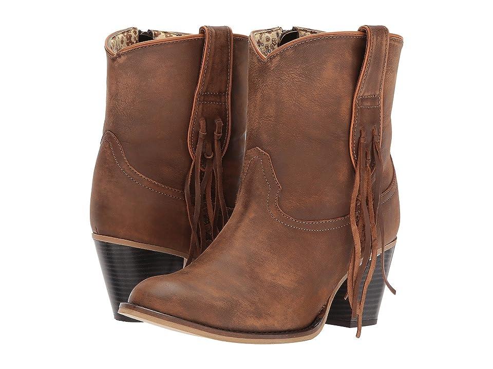 Dingo Wrigley (Tan) Cowboy Boots