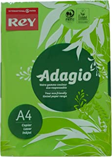 Adagio 30218 A4 80 GSM Rey Paper - Deep Green (Pack of 500 Sheets)