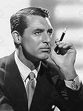 Doppelganger33 Ltd Vintage Photography Portrait Actor Cary Grant Smoking Canvas Art Print