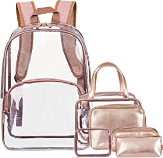 Best clear gold backpack Reviews
