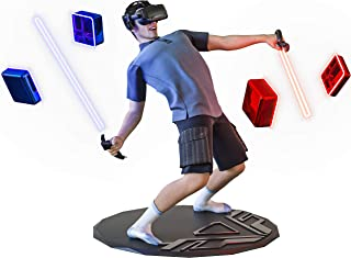 """XPACK VR Mat Round - 35"""" Virtual Reality Matt Helps Determine Direction and Position of Your Feet During Game, Prevents Pl..."""