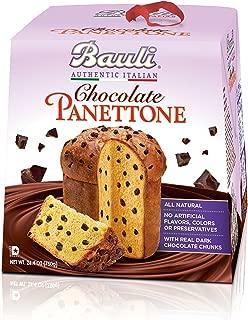 Bauli Panettone Chocolate Chip Italian Holiday Cake, 750 Gram