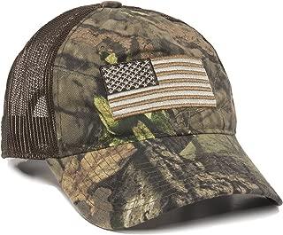 Men's Camouflage Americana Cap, One Size