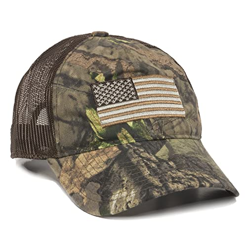 721d46fdb7c Outdoor Cap Men s Camouflage Americana Cap