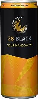 28 Black Sour Mango-Kiwi, 24er Pack, EINWEG 24 x 250 ml