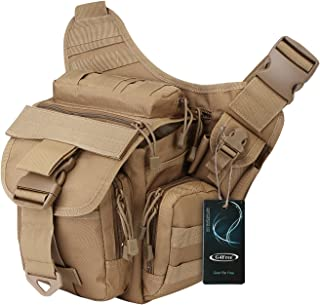 G4Free Tactical Messenger Fishing Tackle Side Bag EDC Sling Pack Utility Versipack