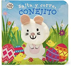 Salta y corre, Conejito / Hippity, Hoppity, Little Bunny Finger Puppet Book (Spanish Edition)