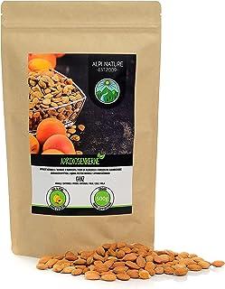 Abrikozenpitten (500g), hele abrikozenpitten, natuurlijk, voorzichtig gedroogd, van gecontroleerde teelt