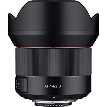 Rokinon 14mm F2.8 Full Frame Auto Focus Wide Angle Weatherproof Lens for Nikon (IO14AF-N)