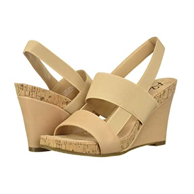 A2 by Aerosoles Bone Plush (Light Tan Nappa) Women