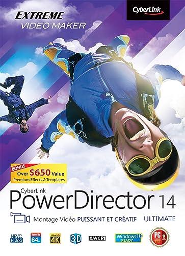 PowerDirector 14 – Ultimate [Téléchargement]