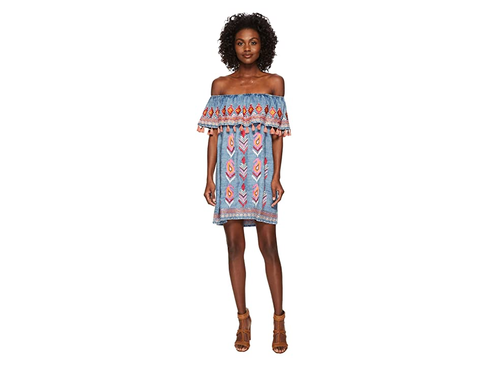 Tolani Malani Tunic Dress (Multi) Women
