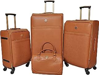 Magellan Trolley Brown, 4 pieces Luggage Set - 84 MA8022BRN
