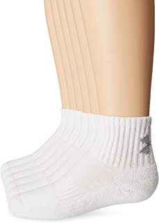 Under Armour Youth Charged Cotton 2.0 Quarter Socks-6 Pack