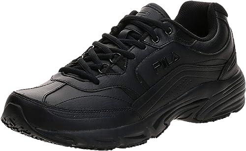 Fila Men's Memory Workshift Slip Resistant Work Shoe best shoes for flat feet men