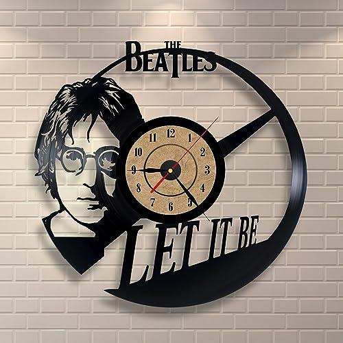 The Beatles Design Vinyl Wall Clock Home Decor Gift