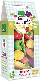 Vilac vilac8103 set med frukt och grönsaker